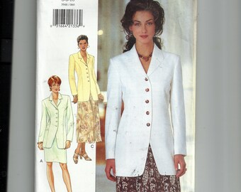 Butterick  Misses' /Misses' Petite Jacket and Skirt Pattern 3948