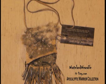 Apocalyptic Necklace HERBAL Medicine Bag Necklace, Apocalyptic Pouch