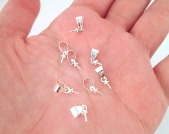 Silver Bails, 3.5x13mm long, Pick your Amount, A43