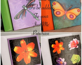 Add a personal gift card / Note card / Hand written gift card / Hand Written Note Cards / Only for 'Just Me' customers