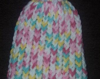 Newborn/ Doll knit Hats (set of 4)
