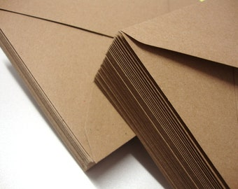 "Brown Kraft Fleck Recycled Envelopes - C5, C6, C7, 5"" x 7"", 165mm, 155mm, 130mm, DL"
