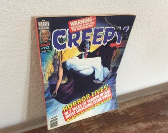 Creepy comics Issue #112 from October 1979