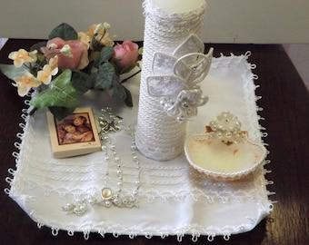 Christening candle, Baptism candle set, christening candle, Baptism candle set, Baptism candle