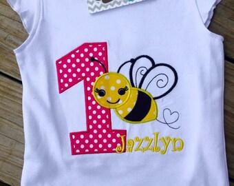 Bee Birthday Shirt