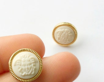 THEOS Grecian Medusa Studs. Fast Shipping w/Tracking for US Buyers. Purchase will arrive in Gift Box w/Ribbon. The PERFECT Gift.