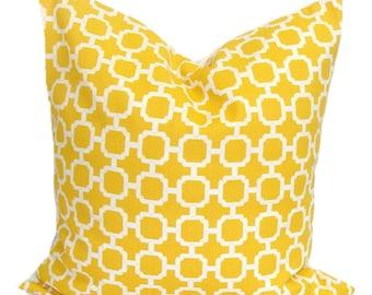 Yellow Pillows, Yellow Pillows, Yellow Indoor OUTDOOR Pillow Cover, Decorative Pillow, Yellow Throw Pillow, Yellow Euro, Yellow Cushion, cm