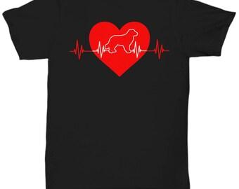 Golden Retriever Heartbeat Tee Shirt - Canine T Shirt