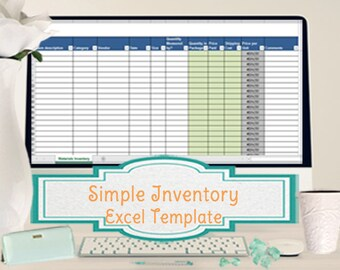 Simple Inventory Worksheet, Vendor Price Comparison and Supplies Conversion