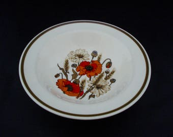 Meakin studio 'poppies'' dessert bowl