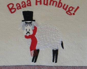 Sheep Baa Humbug Towel