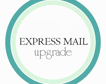 1-2 days express mail -- USA ONLY