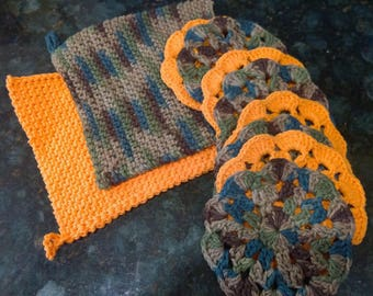 Pot holders/trivets and coasters