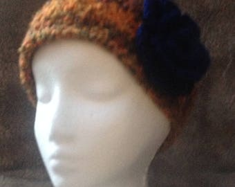 Women's ear Warmer with button back