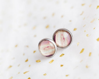 Sunset Studs, Yellow Pink, Studs, Studs Earrings, Sunset Earrings, Sunset Cliffs, Sunset Jewelry, Sunset Gift, San Diego, Gift For Her