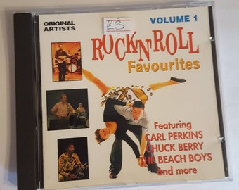 Rock'n'roll favourites cd