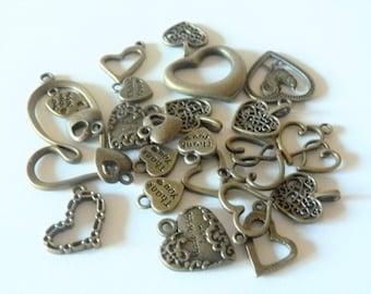 set of 24 hearts