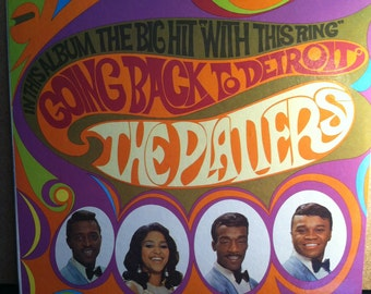 The Platters Going Back To Detroit Vinyl Soul Record Album