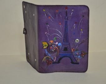Ipad case leather holder