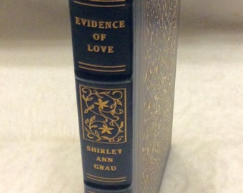 Franklin library first edition limited edition 1977 Evidence of love Shirley Ann Grau mint