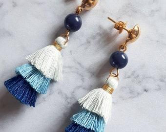 Bo tassels chic so sweet - stormy blue