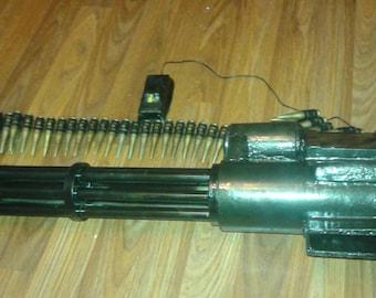 Cosplay prop, cosplay weapon, cosplay gun, cosplay 3D print, cosplay accessory, War machine mini gun