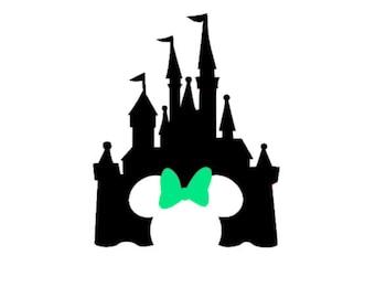 disney castle etsy rh etsy com disney princess castle clipart disney castle clipart png