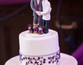 Same Sex Wedding Cake Topper