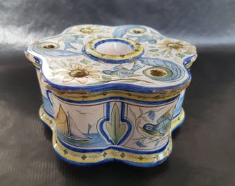 Ceramic Inkwell.