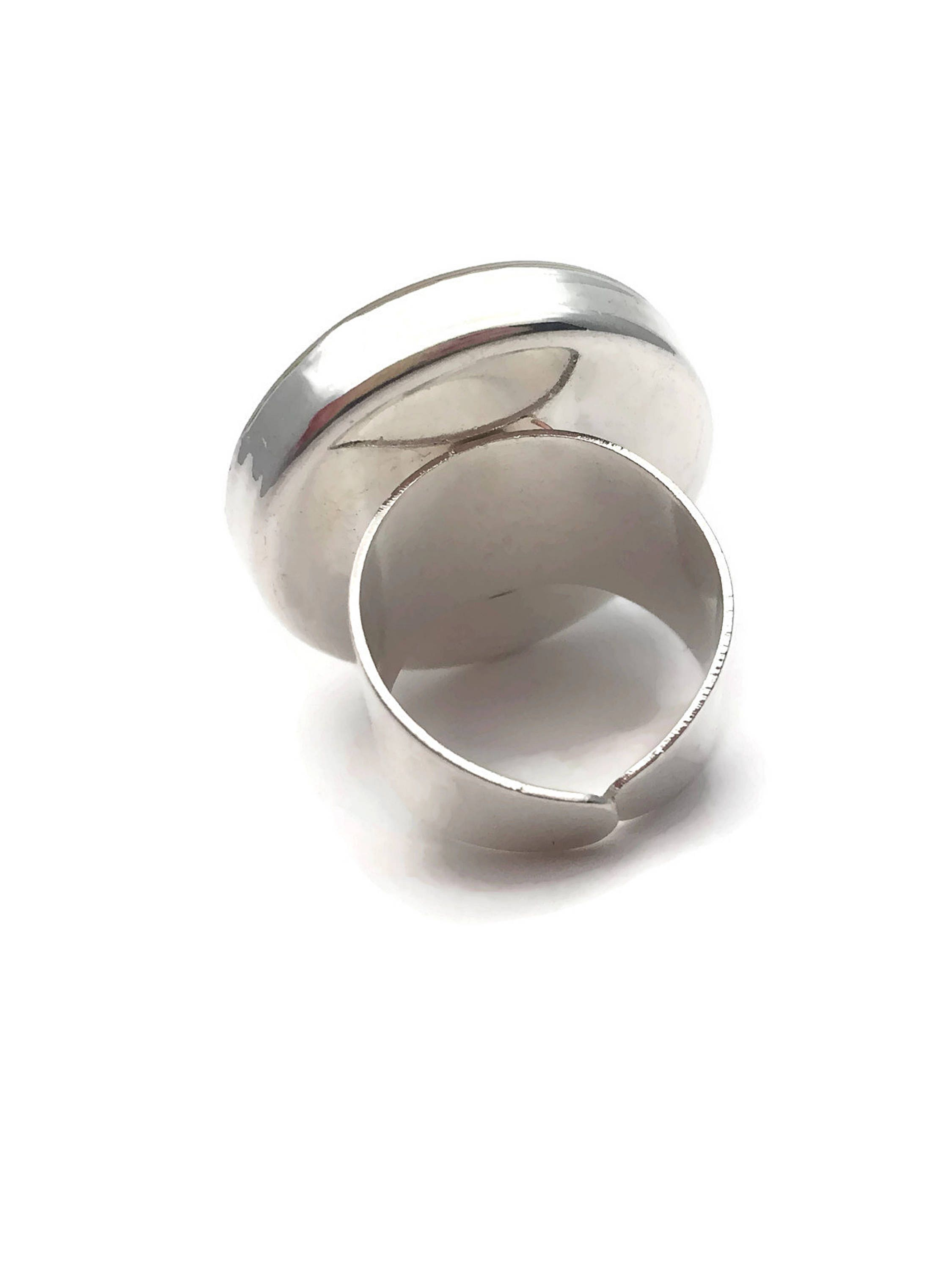 portfolio steel artist fine graham joann ring rings jewelry silver sterling and abstract