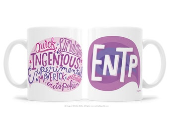 ENTP Extrovert Gift MBTI Gift BFF Gift Support Mug Friendship Mug Woo Woo Gift Myers Briggs Gift Motivational Mug Inspirational Gift Mystic