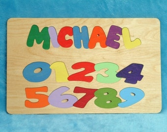 Name / Number Puzzle