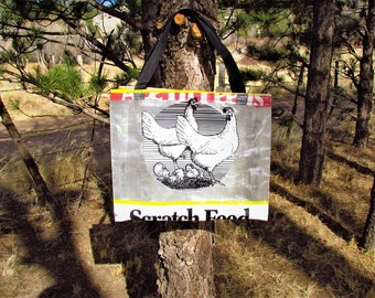 Chicken Feed Bag Totes