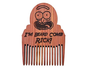 Rick And Morty | Rick Sanchez I'm Beard Comb Rick