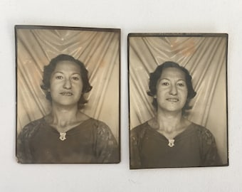PHOTOBOOTH  |  2 images  |  WOMAN  |  1930s  |  Nice!