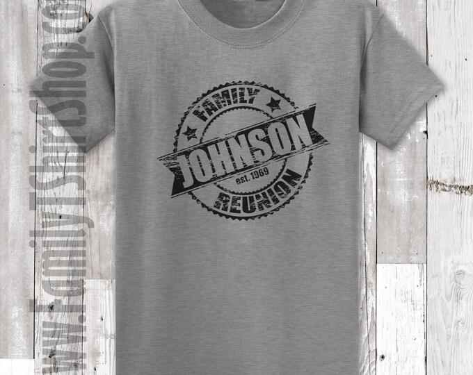 Family Reunion T-Shirt - Seal Customizable