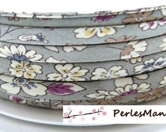 1 meter Ribbon liberty spaghetti 7mm 2 collection floral liberty