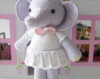 Elephant Amigurumi Toy PATTERN