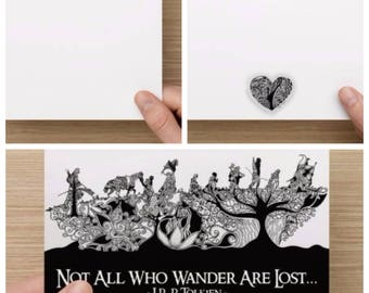Lord Of The Rings Greetings Card