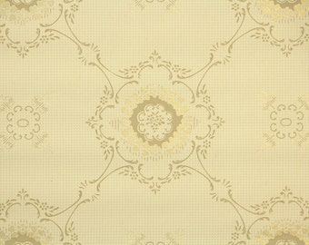 1920's Vintage Wallpaper - Antique Floral Ceiling Wallpaper