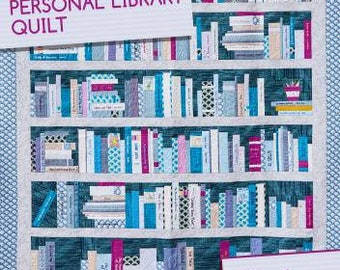 Personal Library Quilt Pattern by Crimson Tate
