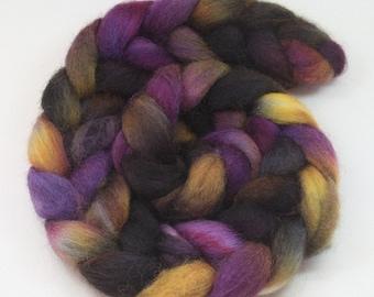 Constellation - hand dyed Norwegian wool roving - 4 oz