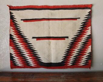 Vintage Navajo Rug / Saddle Blanket