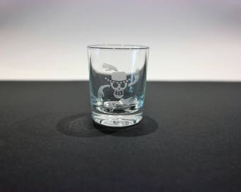 Glass shot One Piece - Robin