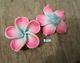 Original 30 mm drilled plumeria flower