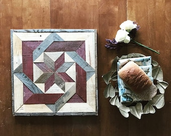 Reclaimed Wood Barn Quilt Square