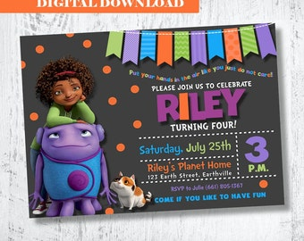 Boov invitation etsy disney home boov oh invitation home movie boov invitation boov tip invitation boov stopboris