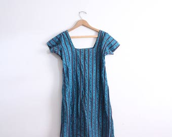 Striped Indian Tunic Dress