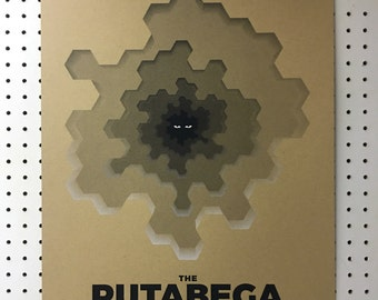 The Rutabega gig poster - handmade screen print