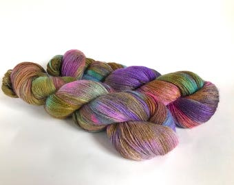 Love In A Storm. Isadora Extrafine Alpaca Lace Yarn.